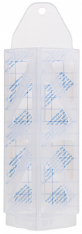 Demi Diamond Clothes Moth Traps (10 x Pads, 3 x Holders)